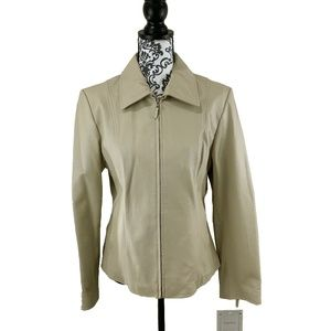 Pamela McCoy Tan Jacket Size Medium
